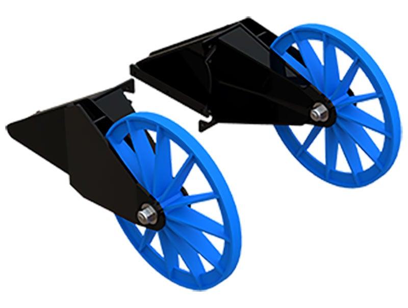 poly liner safe dredging wheels
