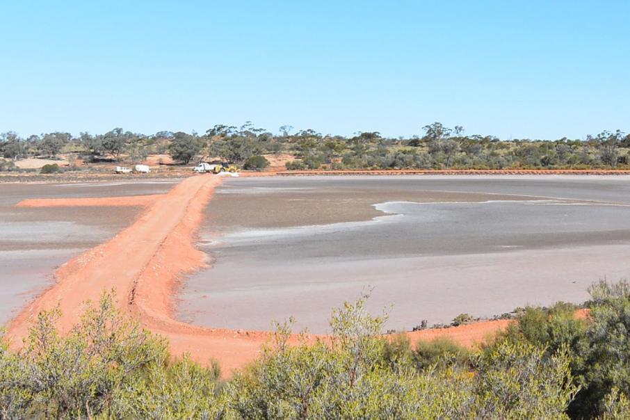 potash-pond-construction