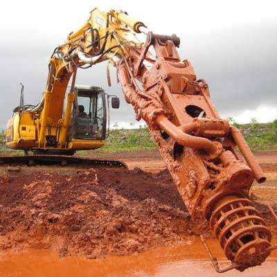 Excavator Pump Attachment Dredge