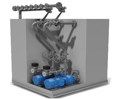 Système de pompe VCHT