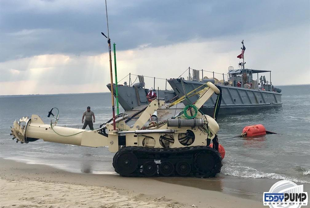 US Army Testing the Subdredge – AKA The MRSD
