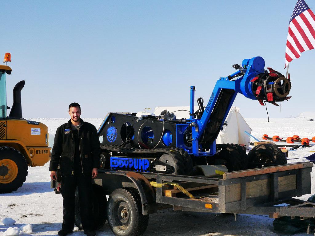 subdredge-ROV测试阿拉斯加
