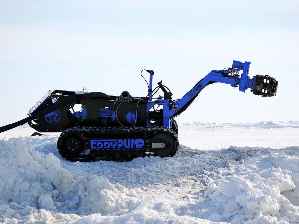 dragueur submersible sans manipulation