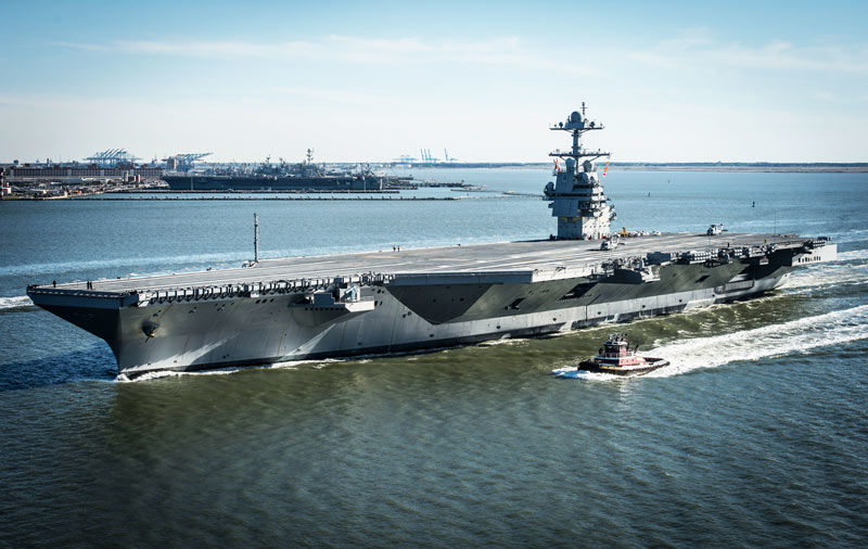 EDDY Pump Helps Power The New Billion Dollar USS Gerald Ford