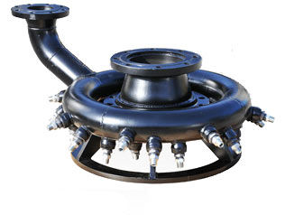 Jetting Ring Dredge Attachment